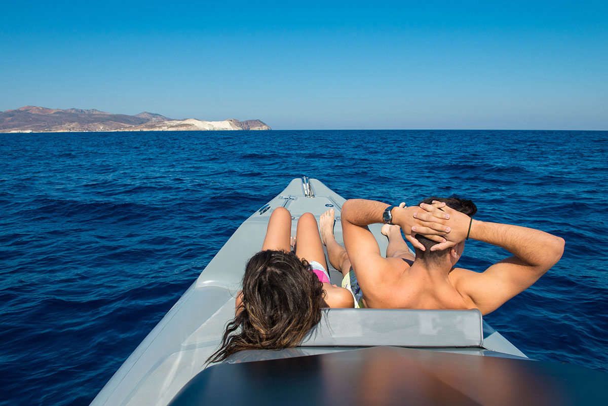 Tour at Cyclades by private boat